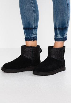 CLASSIC MINI SPARKLE - Snowboots  - black