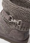 UGG - PURL STRAP BOOT - Classic ankle boots - charcoal