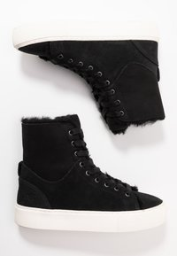 UGG - BEVEN - Zapatillas altas - black