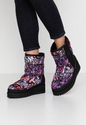RIDGE GRAFFITI POP - Winter boots - multicolor
