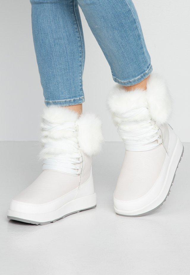 GRACIE WATERPROOF - Snowboots  - white