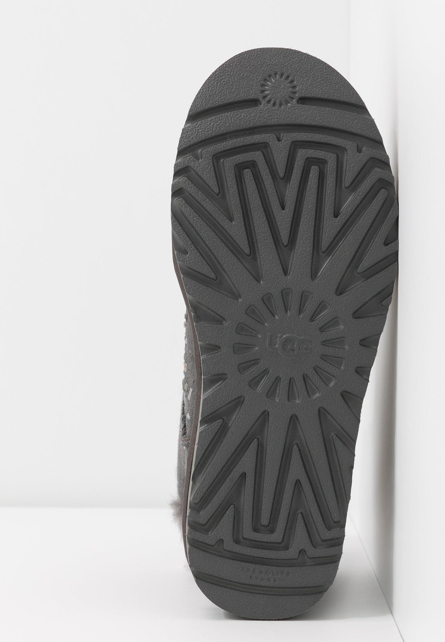 UGG CLASSIC GALAXY BLING MINI - Ankelstøvler - charcoal