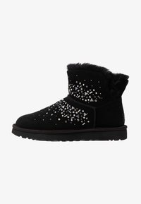 UGG - CLASSIC GALAXY BLING MINI - Ankle boots - black - 1