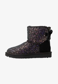 UGG - CLASSIC MINI BOW COSMOS - Classic ankle boots - black - 1