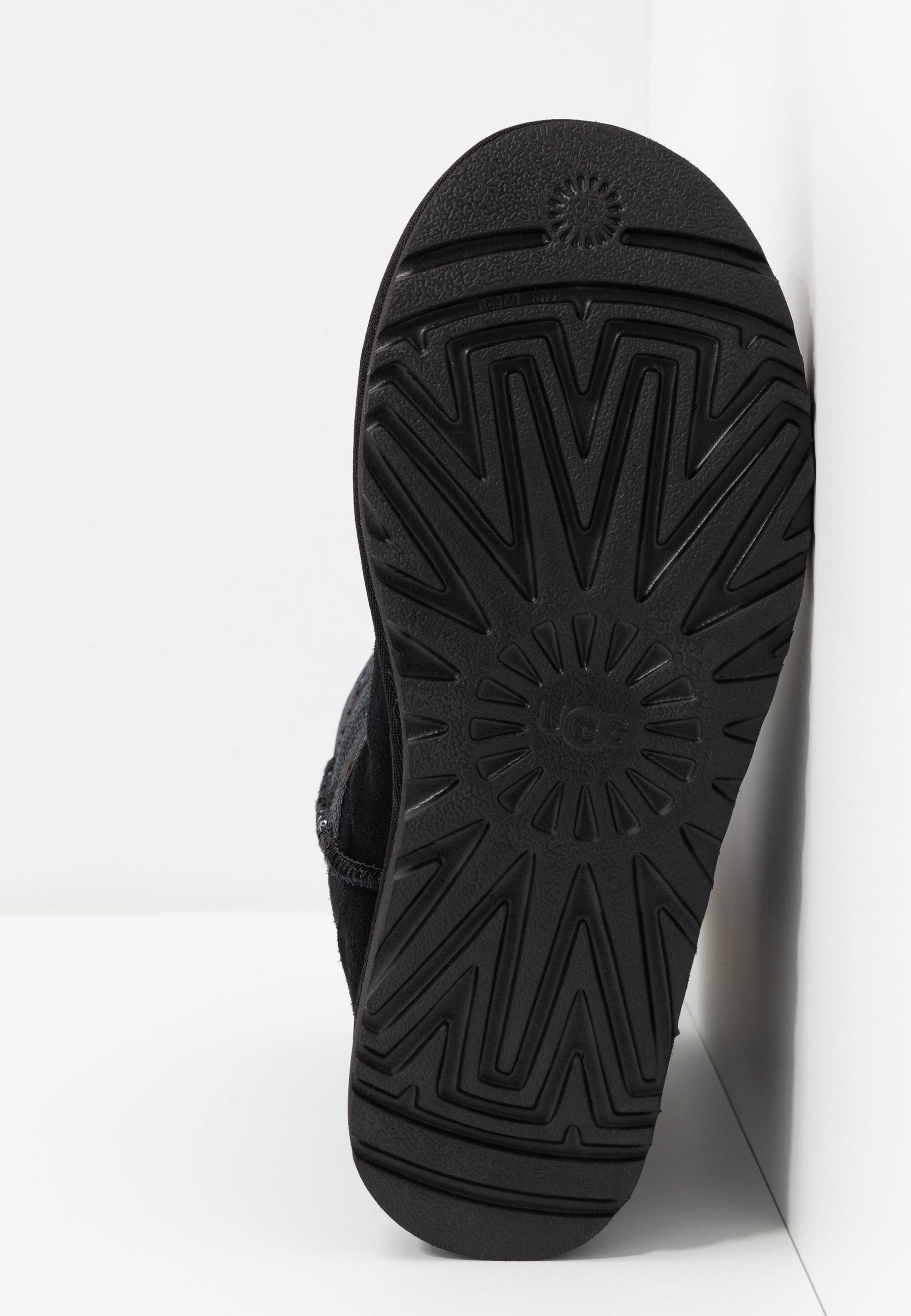 Ugg Classic Short Sequin Stars - Snowboots Black Goedkope Schoenen