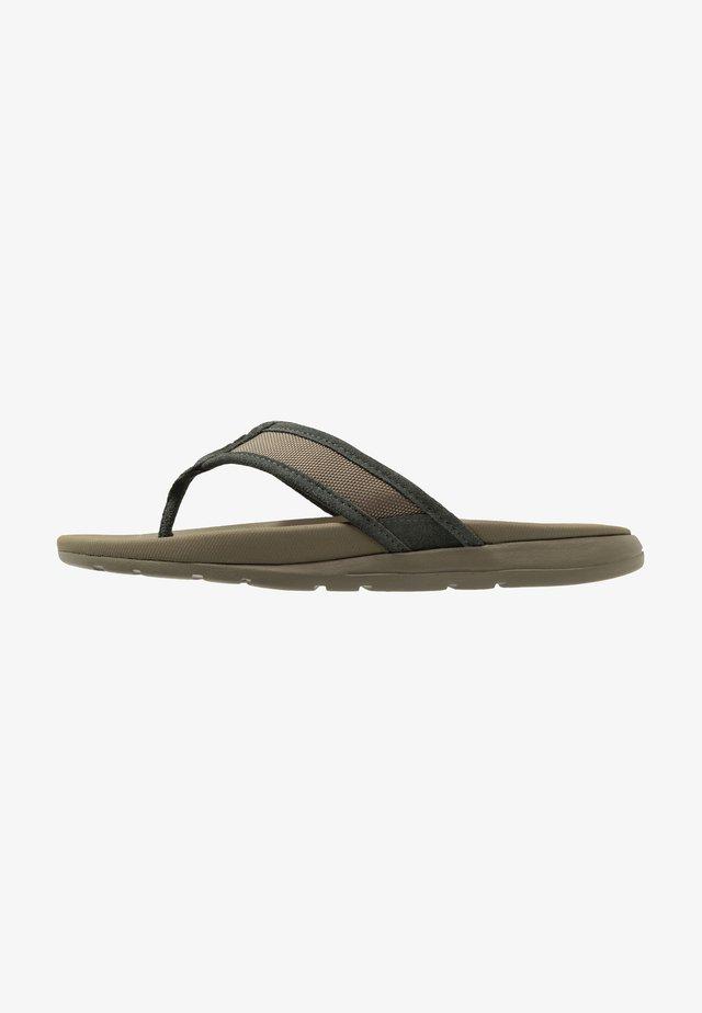 TENOCH BALLISTIC - T-bar sandals - olive