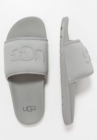 UGG - XAVIER GRAPHIC - Kapcie - grey - 1