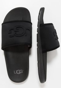 UGG - XAVIER GRAPHIC - Chaussons - black - 1