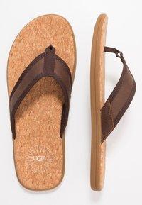 UGG - SEASIDE - T-bar sandals - chestnut - 1
