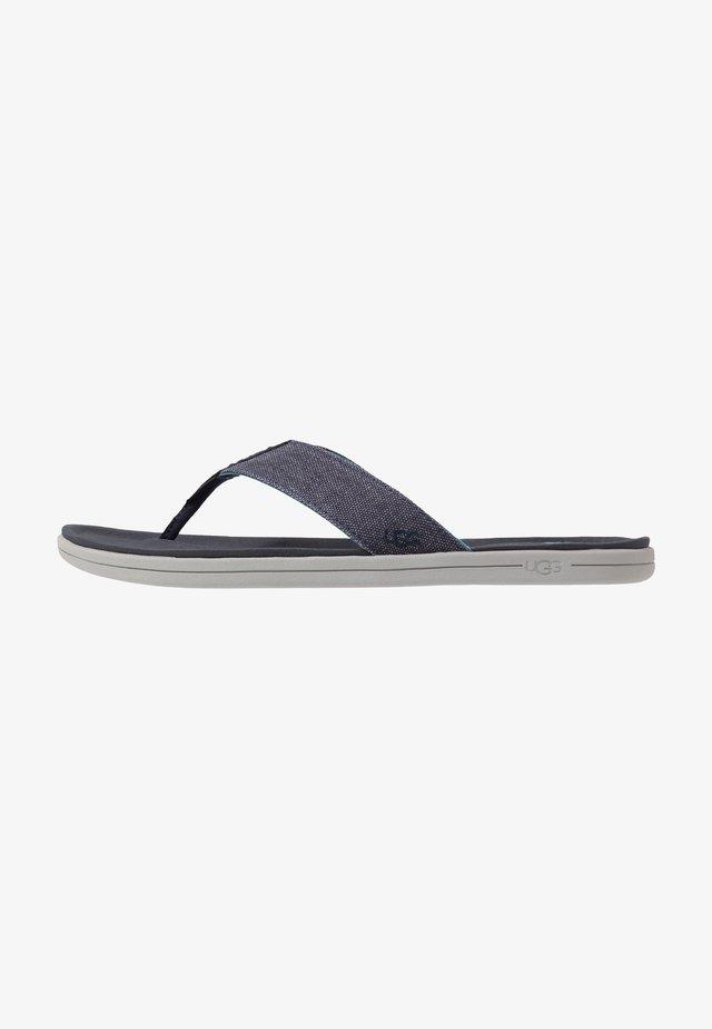 BROOKSIDE FLIP - T-bar sandals - dark sapphire