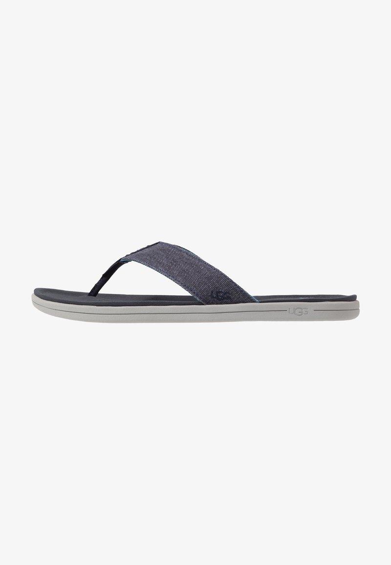 UGG - BROOKSIDE FLIP - T-bar sandals - dark sapphire