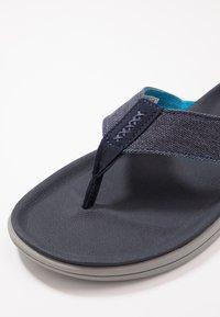 UGG - BROOKSIDE FLIP - T-bar sandals - dark sapphire - 5