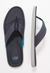 UGG - BROOKSIDE FLIP - T-bar sandals - dark sapphire - 1