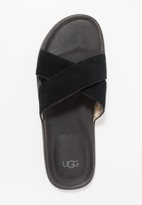 UGG - BROOKSIDE SLIDE - Klapki - black - 1