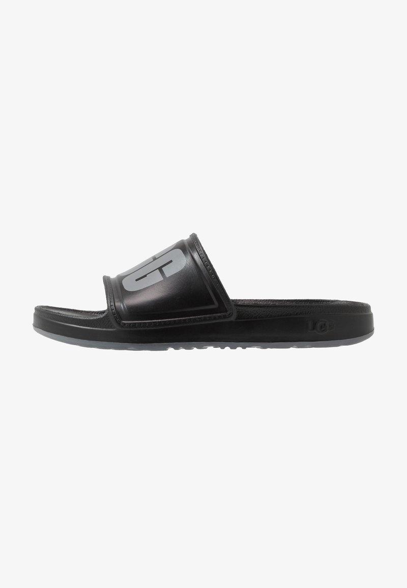 UGG - WILCOX SLIDE - Sandały kąpielowe - black