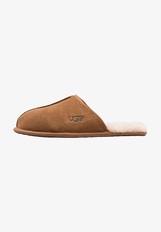 SCUFF - Slippers - cognac