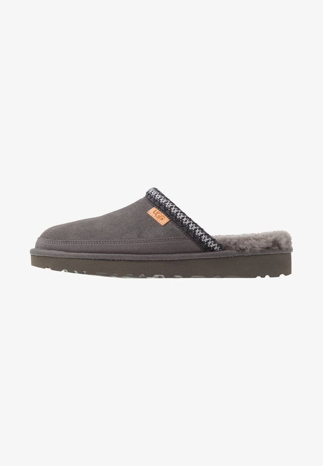 TASMAN - Slippers - dark grey
