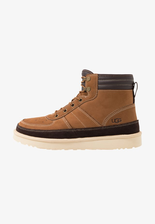 HIGHLAND SPORT - Lace-up ankle boots - chestnut