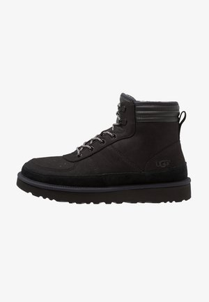 HIGHLAND SPORT - Lace-up ankle boots - black