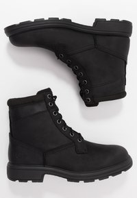 UGG - BILTMORE WORKBOOT - Bottines à lacets - black