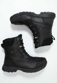 UGG - FELTON - Lace-up ankle boots - black - 1
