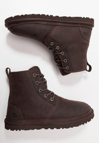 UGG - HARKLEY - Lace-up ankle boots - stout - 1