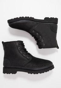 UGG - HARKLAND WP - Lace-up ankle boots - black - 1