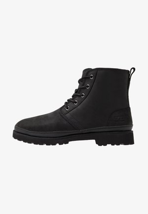 HARKLAND WP - Lace-up ankle boots - black