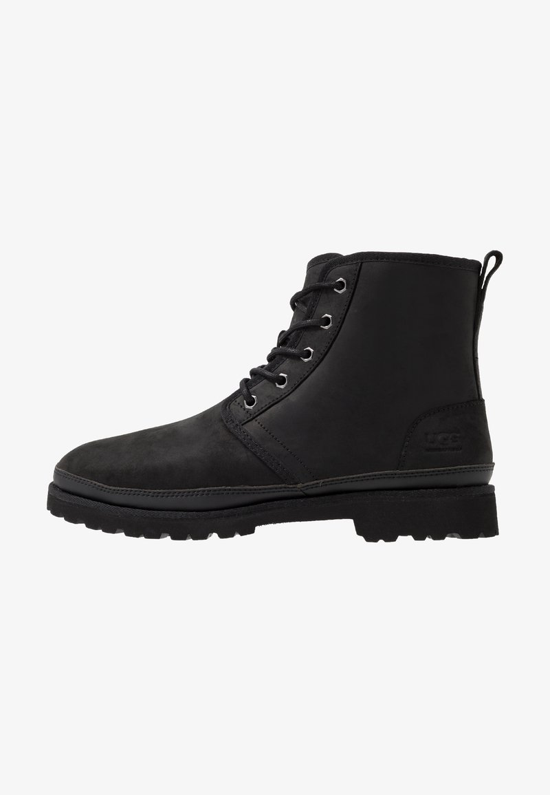 UGG - HARKLAND WP - Lace-up ankle boots - black