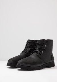 UGG - HARKLAND WP - Lace-up ankle boots - black - 2