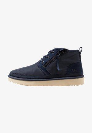 NEUMEL ZIP - Sznurowane obuwie sportowe - navy
