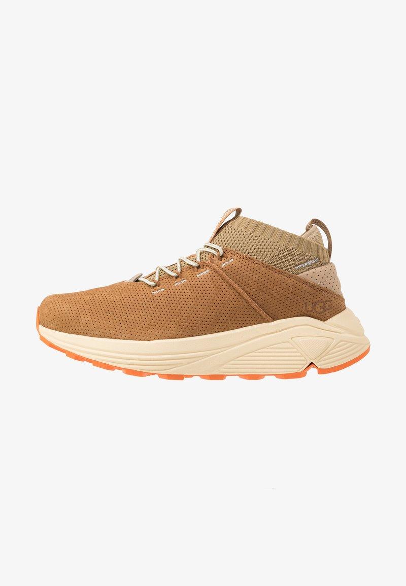 UGG - MIWO SPORT HIGH HYPERWEAVE - Sneakersy wysokie - oak