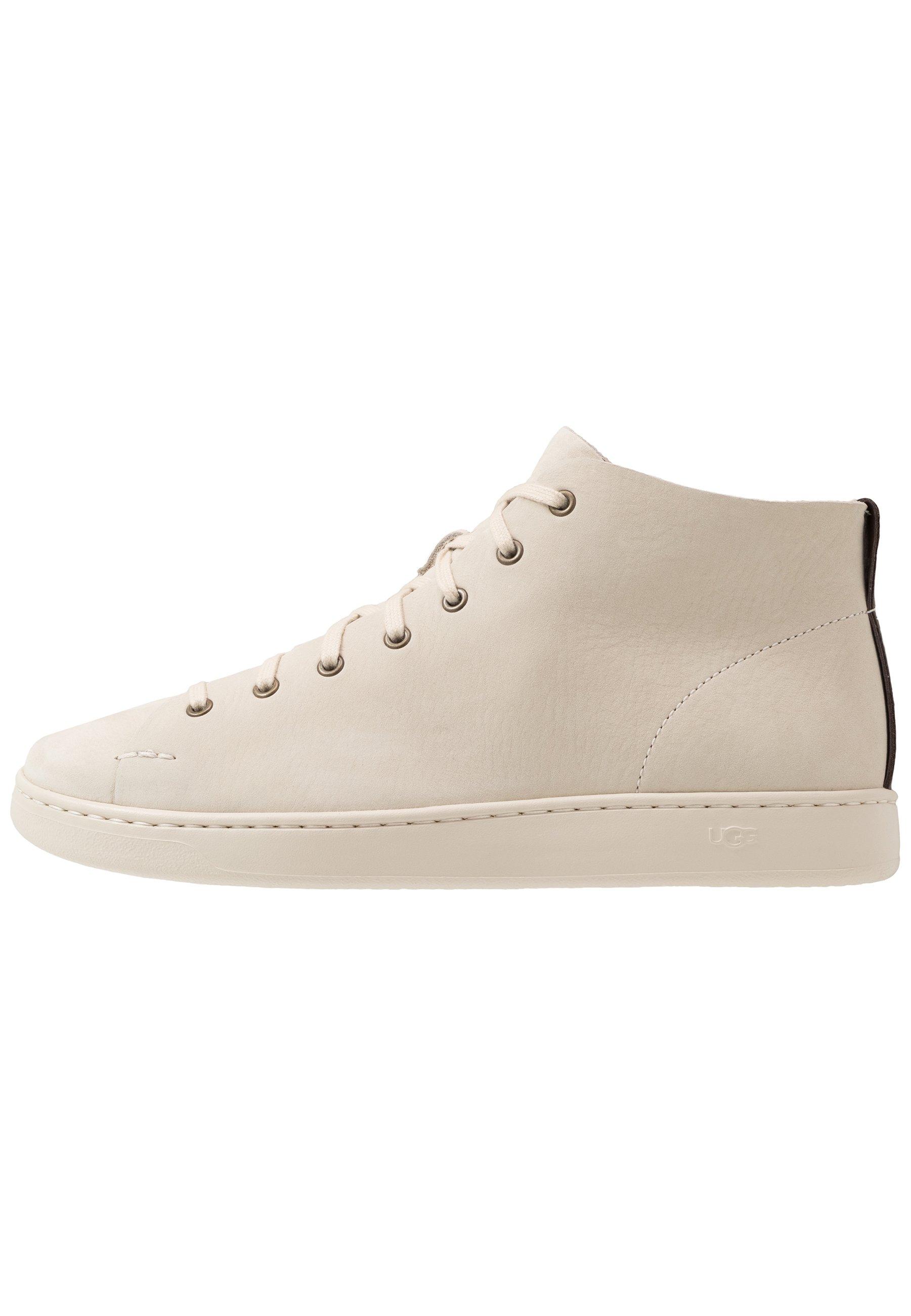 UGG PISMO Höga sneakers bone white Zalando.se