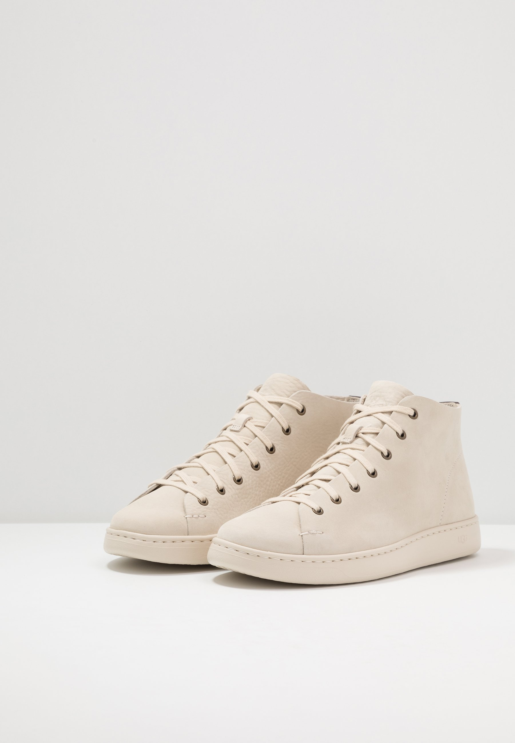 UGG PISMO - Sneakersy wysokie - bone white