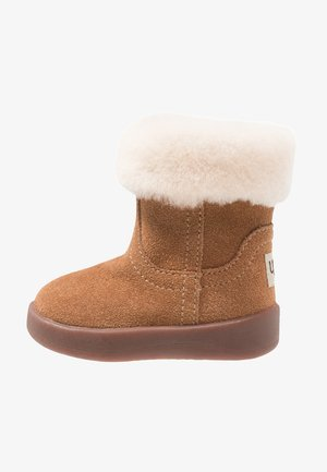 JORIE - Baby shoes - chestnut