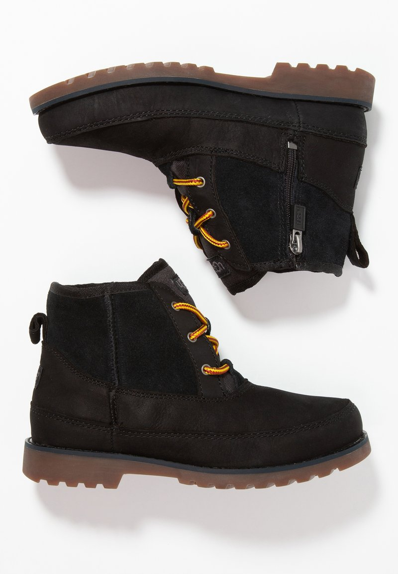 UGG - BRADLEY - Lace-up ankle boots - black