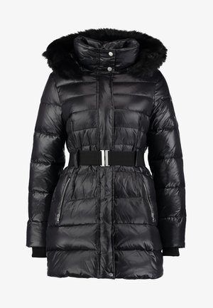 VALERIE BELTED COAT - Płaszcz puchowy - black