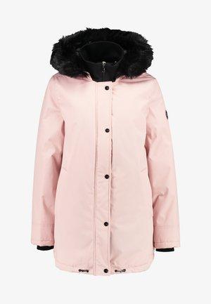 BERNICE - Classic coat - pink crystal