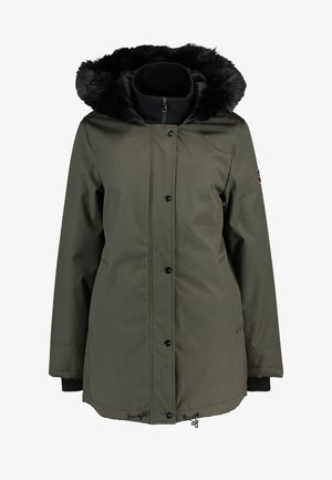 BERNICE - Zimní kabát - olive