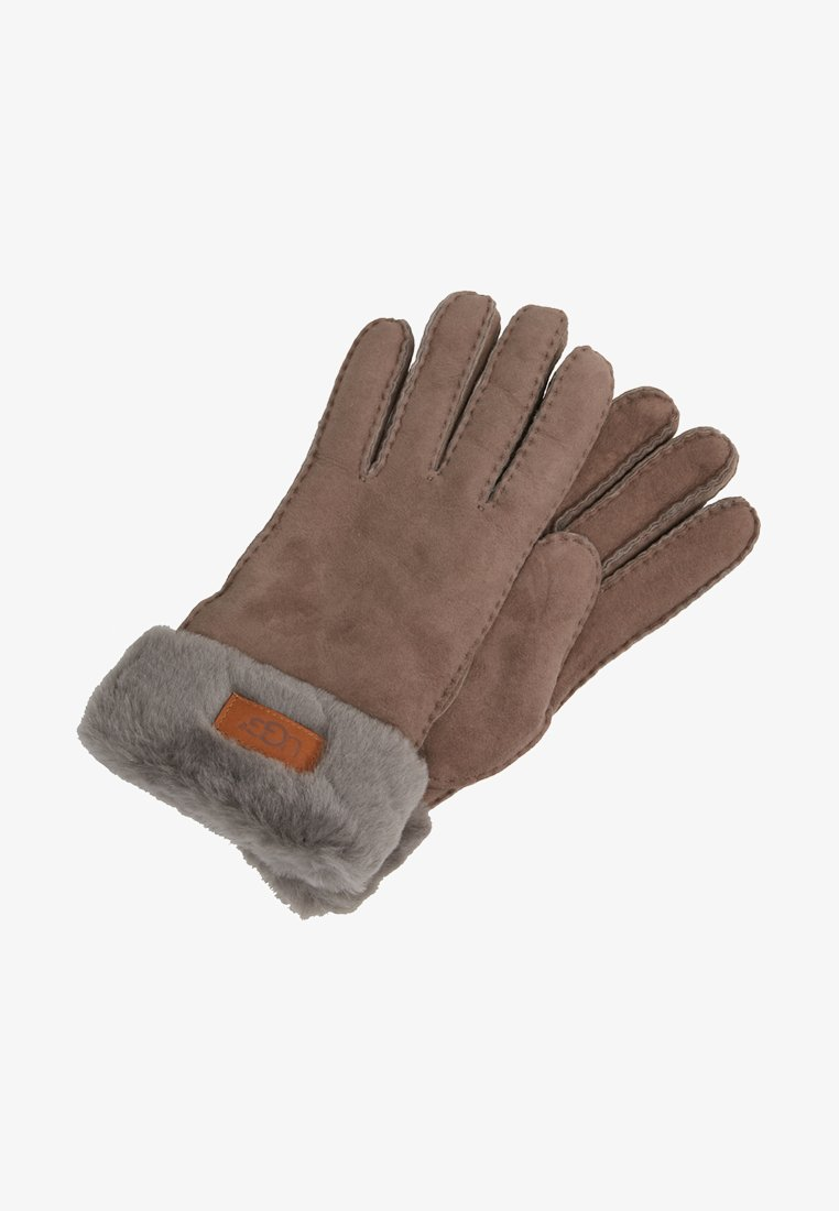 UGG - TURN CUFF GLOVE - Rukavice - stormy grey