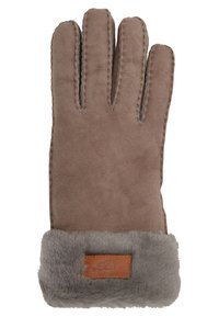 UGG - TURN CUFF GLOVE - Rukavice - stormy grey - 1