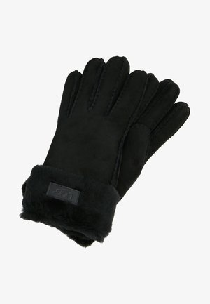 TURN CUFF GLOVE - Gloves - black