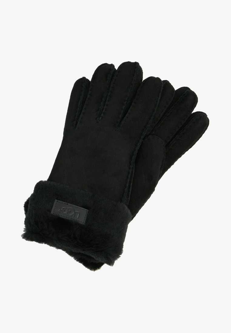 UGG - TURN CUFF GLOVE - Rukavice - black
