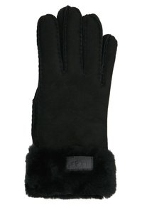 UGG - TURN CUFF GLOVE - Rukavice - black - 1