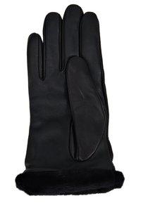 UGG - CLASSIC LOGO GLOVE  - Gloves - black - 2