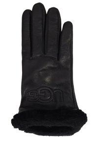 UGG - CLASSIC LOGO GLOVE  - Gloves - black - 1