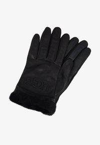 UGG - CLASSIC LOGO GLOVE  - Gloves - black - 0