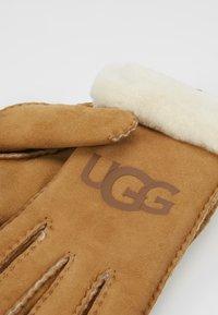 UGG - LOGO GLOVE - Handschoenen - chestnut - 3