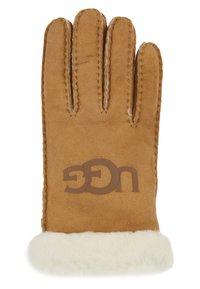 UGG - LOGO GLOVE - Handschoenen - chestnut - 1