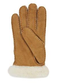 UGG - LOGO GLOVE - Handschoenen - chestnut - 2